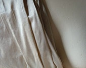 Silk Dupioni in Champagne Fat Quarter Ships from USA for Bridal, Clutches, Garters, Roses, Sewing