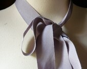 SALE 5 yds Gray Lavender Ribbon made in Japan for Bridal, Bouquets, Millinery, Everything