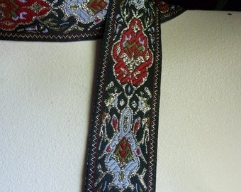 Jacquard Trim for Tribal Fusion or Bellydance Costumes, Headbands, Costumes, Scrapbooking TR 213