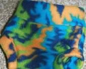 Newborn Tie Dyed Fleece Soaker