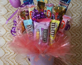 Easter Candy Arrangement