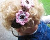 Perfect Petals  Headband PDF Crochet Pattern