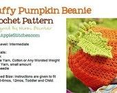 Puffy Pumpkin Beanie PDF Crochet PATTERN