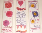 Romance and Roses Bookmarks