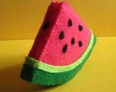 Felt Slice o' Watermelon -cute felt fruit