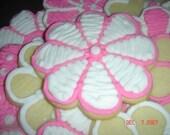 One Dozen Hand Decorated Sugar Cookies