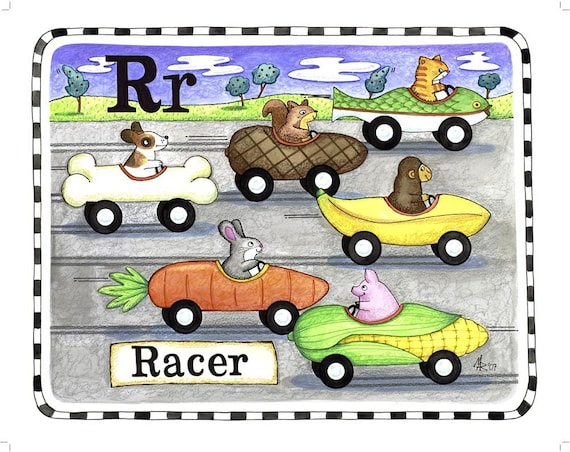 R is for Racer