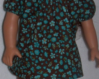 18 Inch Doll Summer Capri Leggings Outfit and Shoes