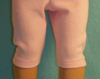18 inch Doll Pink Capri Leggings