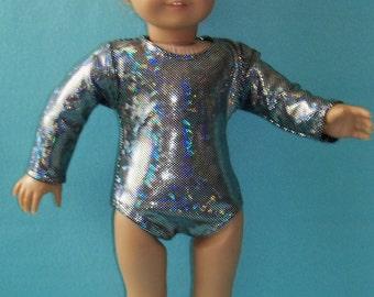 18 inch  Doll Gymnastic Performance Leotard