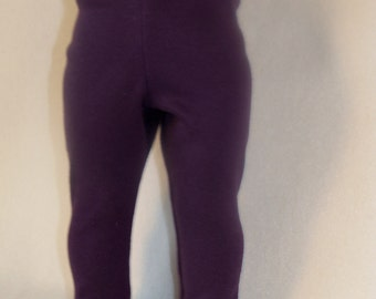American Made 18 inch Doll Purple Leggings