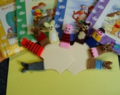 Free Book Special.  Deluxe Bear and Friends Finger Puppet Set.
