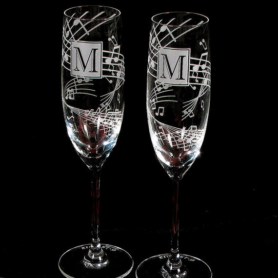 Wedding Present Champagne Glasses : ... Champagne Flutes, Fine Crystal Champagne Glasses Wedding Present