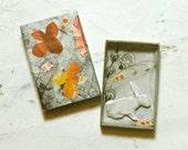 Matchbox Art - Rabbit Whimsy