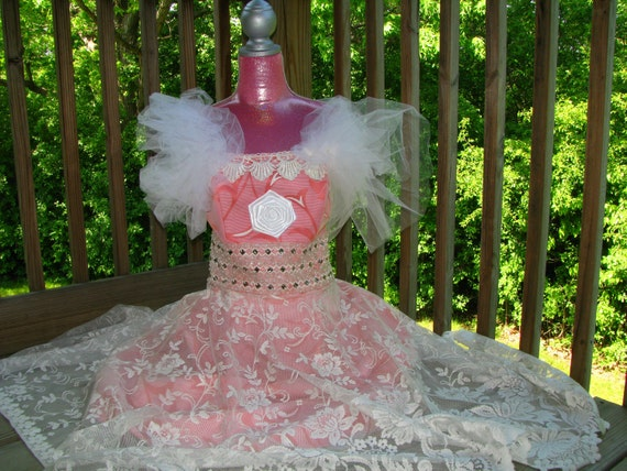 Sale Was 250 Now 1150Pink Collection Lace Dress From veronikaswan On Etsy
