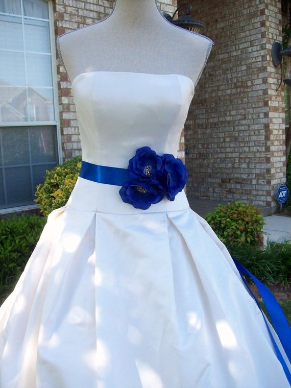 Royal Blue Wedding,Royal Blue Sash,Flower Sash,Bridal Sash,Bridal Sash,Flower Girl Sash