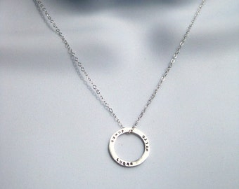 Le Petit Memory Ring Necklace