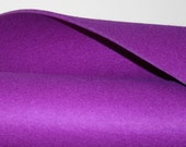 "3MM Thick Virgin Merino Wool Felt Fabric Felted Wool Material Yardage-18"" x 18""- in 19 colors"