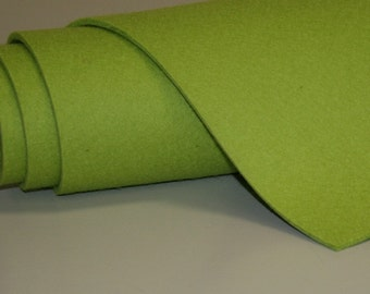 1/4 Yard of 5MM Thick Wool Felt Any Color- 14 x 36