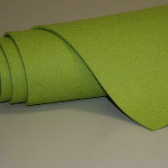 "1/2 Yard of 5MM Thick Wool Felt Any Color-36"" x 28"""
