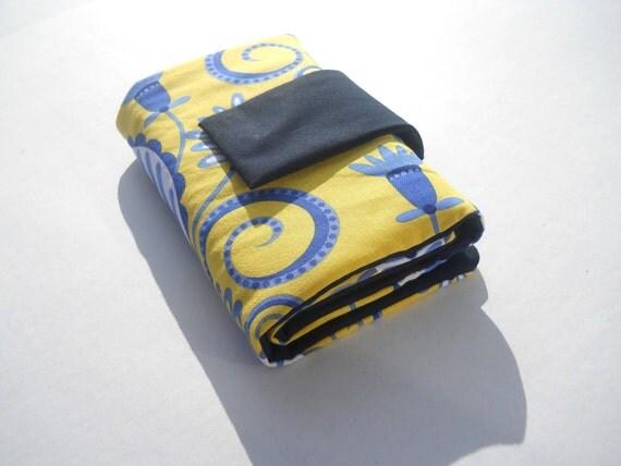 circular knitting needle case-dark blue