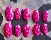 Spotty Dinosaur Egg Nails Cavewoman Couture