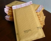 000 Kraft Bubble Mailers 4x8 inches Self Sealing Qty 10