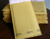 00 Kraft Bubble Mailers 5x10 inches Self Sealing Qty 10