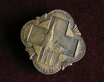 1931 souvenir church medal