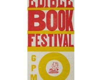Edible Book Festival 2010 Poster