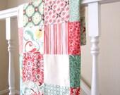 Fandango Patchwork Baby Blanket