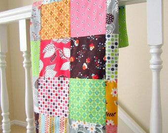 Flea Market Fancy Patchwork Baby Blanket
