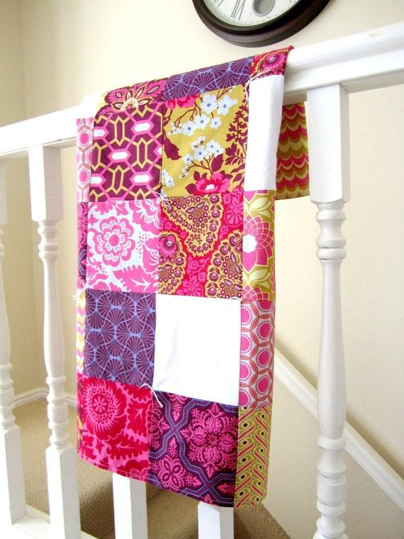 Heirloom Patchwork Baby Blanket