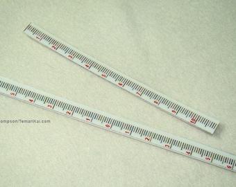 Set of 2 Vertical rulers for Temari-making