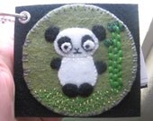 Panda love mini notebook