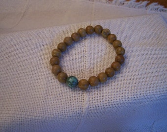 Tiger Jasper with Turquoise-3
