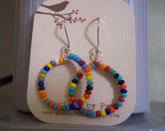Multi-Colored Hoops