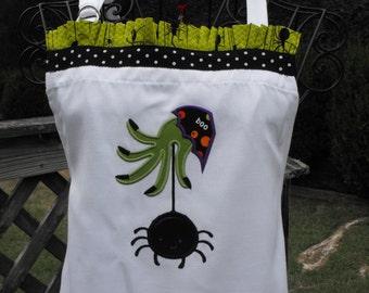 Halloween Spider  Kitchen Apron - Personalized