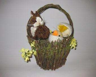 Rustic Easter Basket