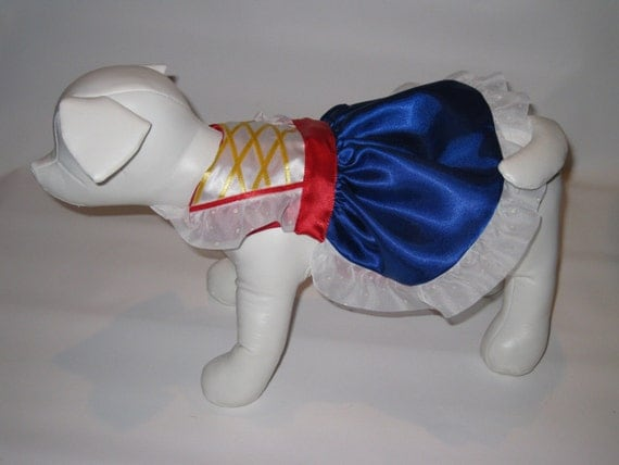 Snow White Dress for Doggies