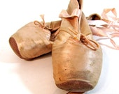 RESERVED FOR MEGHAN79 Antique ballet toe shoes