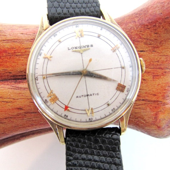 RESERVED FOR HTHR01 Vintage Longines Men's automatic A wristwatch