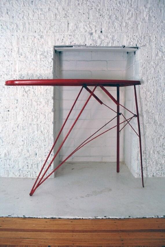 Red Ironing Board By Whiteelephantvintage On Etsy