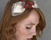 SALE-love is a rose headband