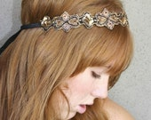 hippie chic tie headband