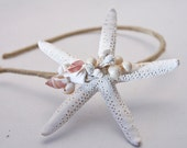 starfish and shells headbands for women