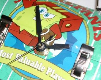 SpongeBob Squarepants Mini Lunch Box Clock