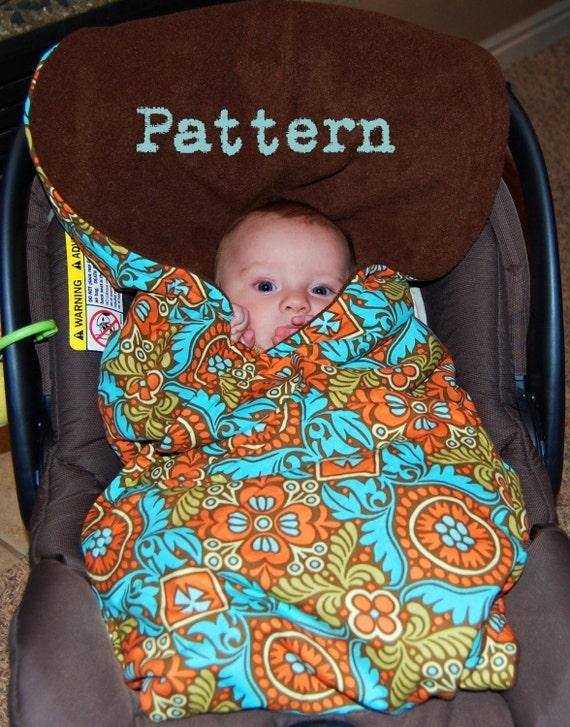 Baby Pattern Car Seat Blanket Pdf Emailed By Toadstreasures