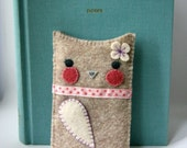 Owl iPod, iPhone, iTouch Case- Pipoca Gadget Cozy