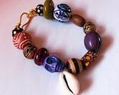 Purple Voodoo Bracelet